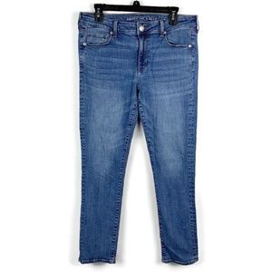 American Eagle Super Stretch Denim Skinny Jeans 14